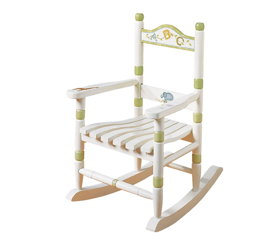 DreamFurniture Teamson Kids Rocking Chair Alphabet