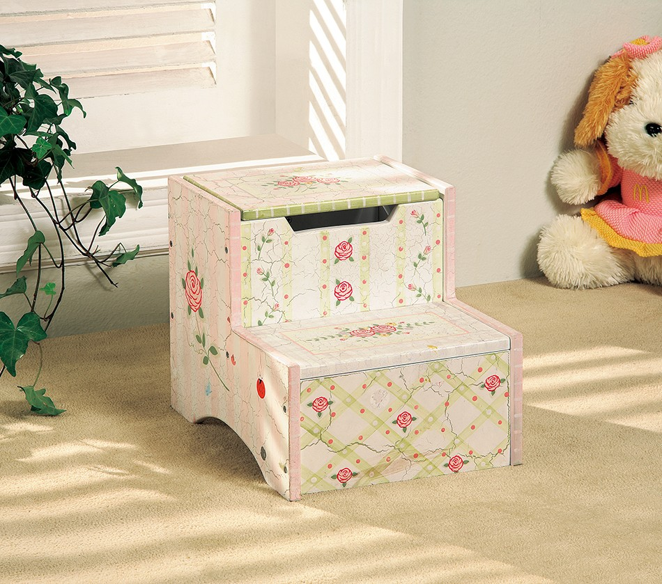 Dreamfurniture Com Teamson Kids Girls Step Stool With