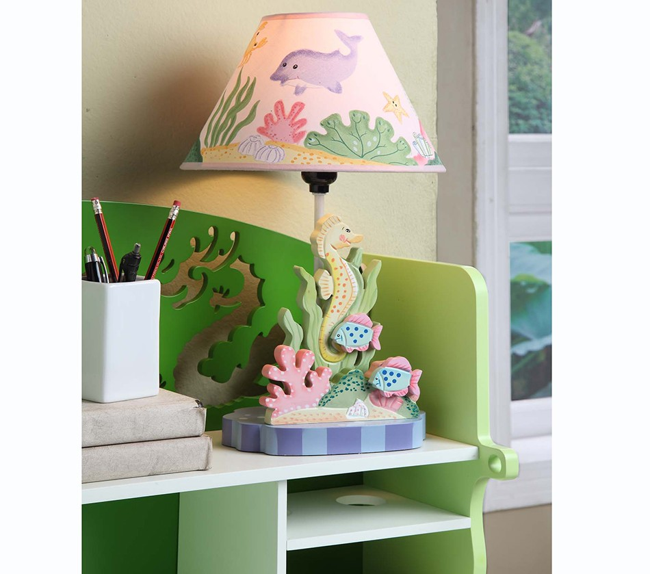 Dreamfurniture teamson kids table lamp under the sea teamson kids table lamp under the sea aloadofball Image collections
