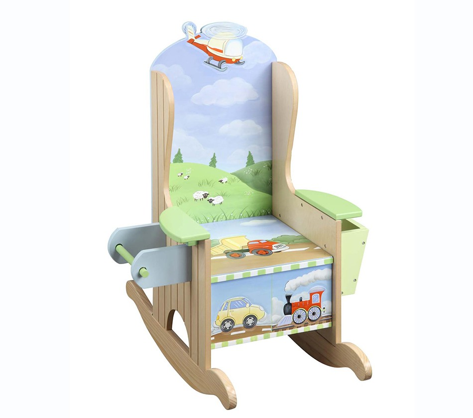 Teamson kids boys potty chair for Kids chairs for boys