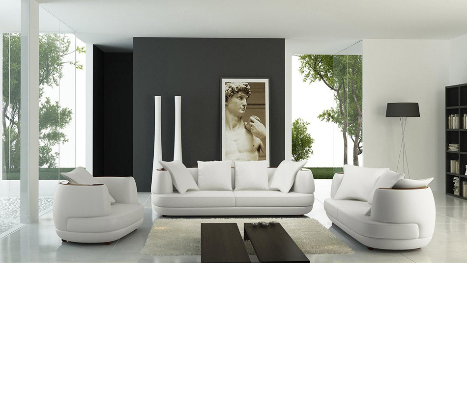 106 modern white sofa set for Modern white furniture