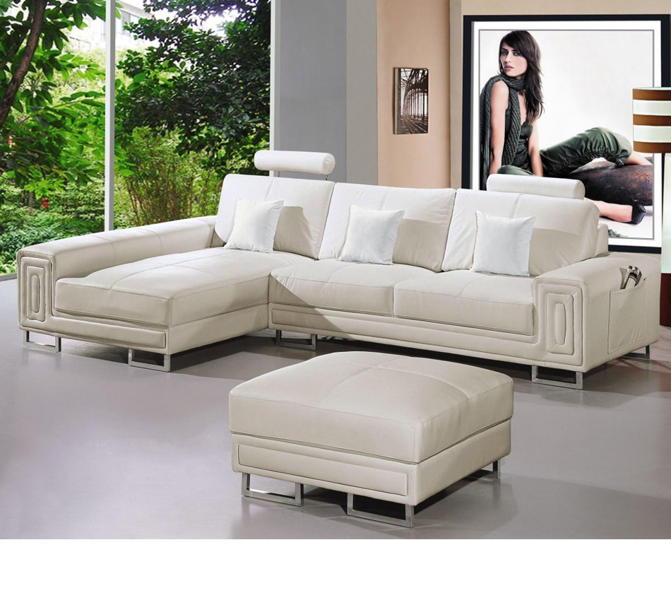 Dreamfurniture Com 2265 Modern Bonded Leather