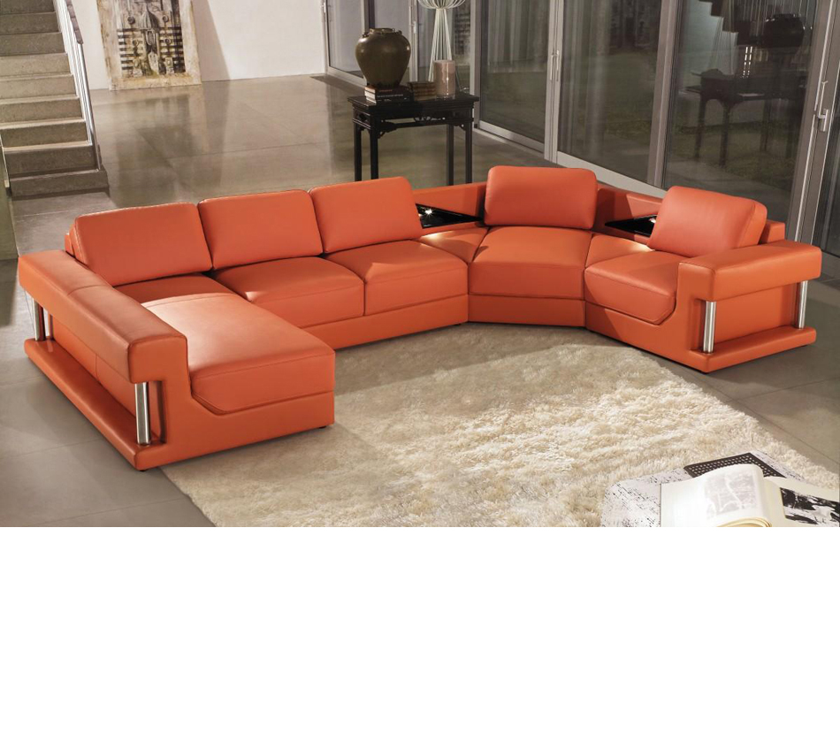 DreamFurniture 2315 Modern Bonded Leather