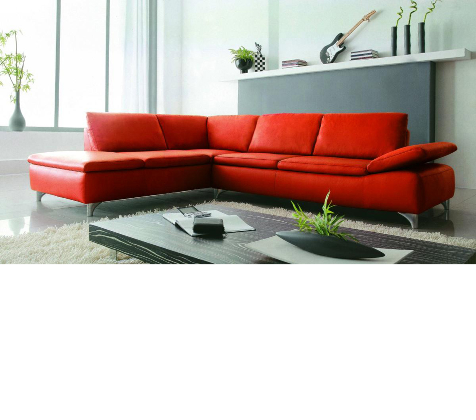 2915 modern bonded leather for Modern leather sofa