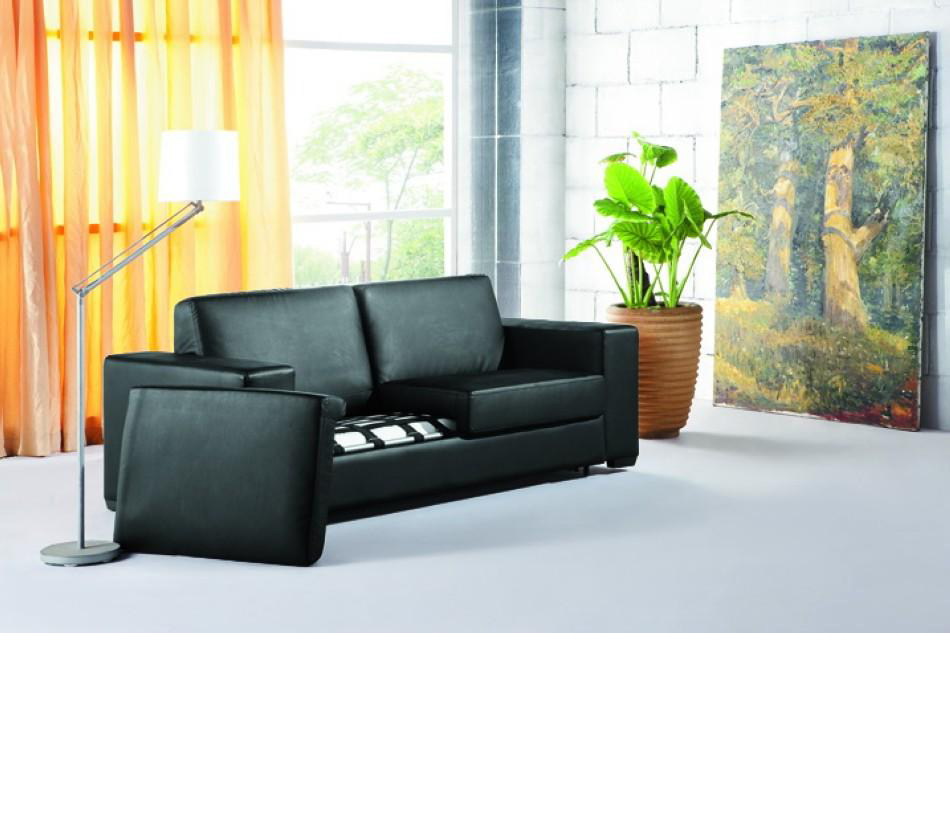 Dreamfurniture Com 0926 Fold Out Espresso Leatherette