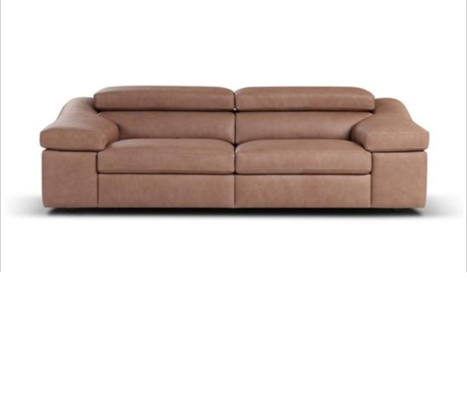 Modern Italian Leather Sofa Set