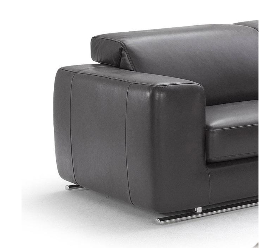 943 Modern Italian Leather Sofa Set
