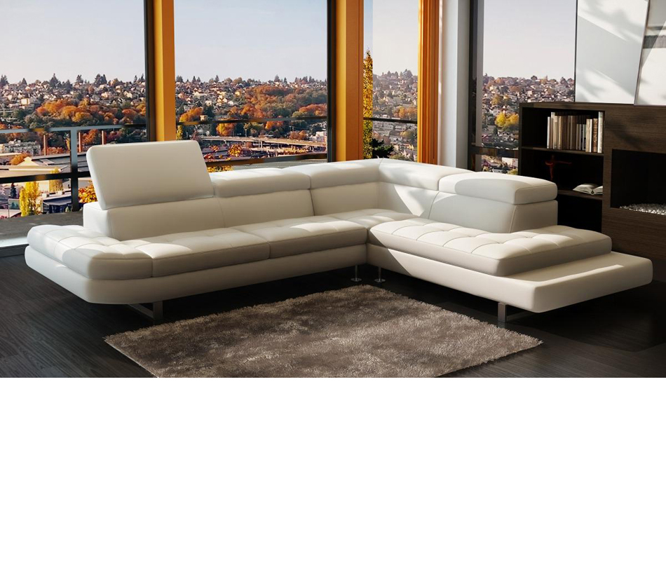 Ital Leather Sofa: Modern Italian Leather