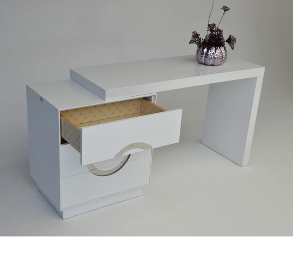 Aw412 120 Transitional White Vanity