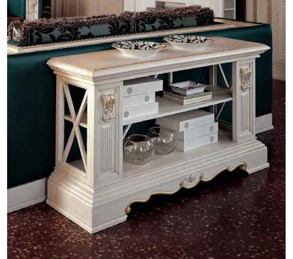 San Marco Living Room End Table White