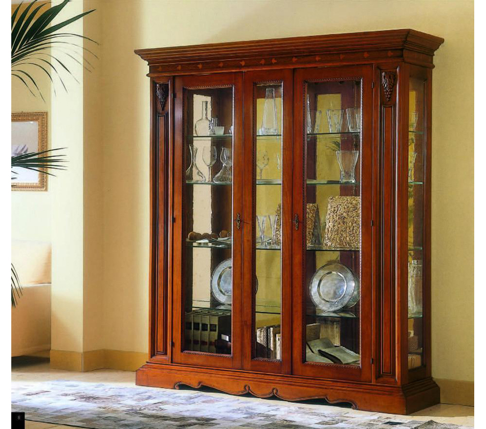 Montalcino dining display cabinet for Dining room display cabinets