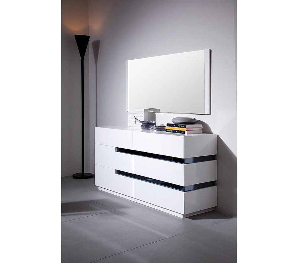 Furniture gt dressers amp mirrors gt cg02d contemporary white gloss