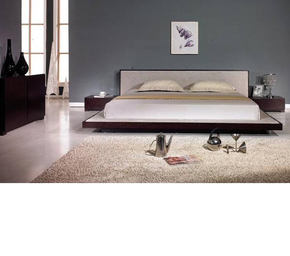 Contemporary Furniture Bed: Comfy Modern Platform Bed