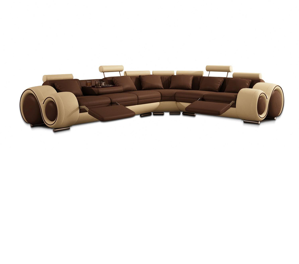 Excellent Divani Casa 4087 Modern Bonded Leather Sectional Sofa Home Interior And Landscaping Pimpapssignezvosmurscom