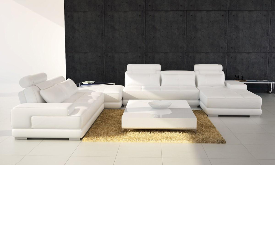 Divani casa 5005 modern for Contemporary leather furniture