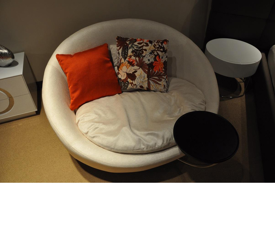 Dreamfurniture Com Divani Casa Alba Modern Fabric