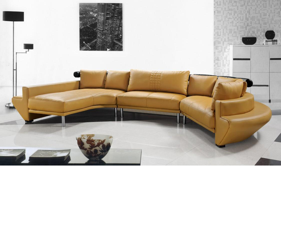 DreamFurniture.com - Divani Casa Jupiter - Contemporary ...