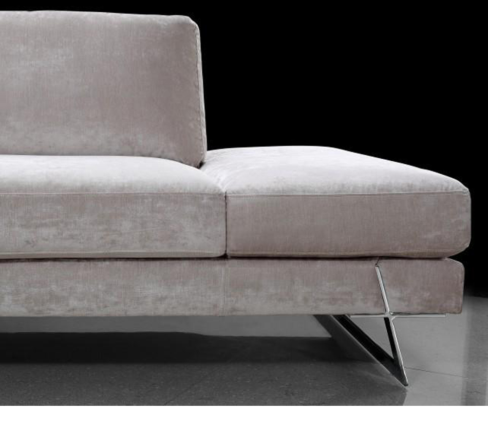 Milano Red Leather Sofa: Divani Casa Milano