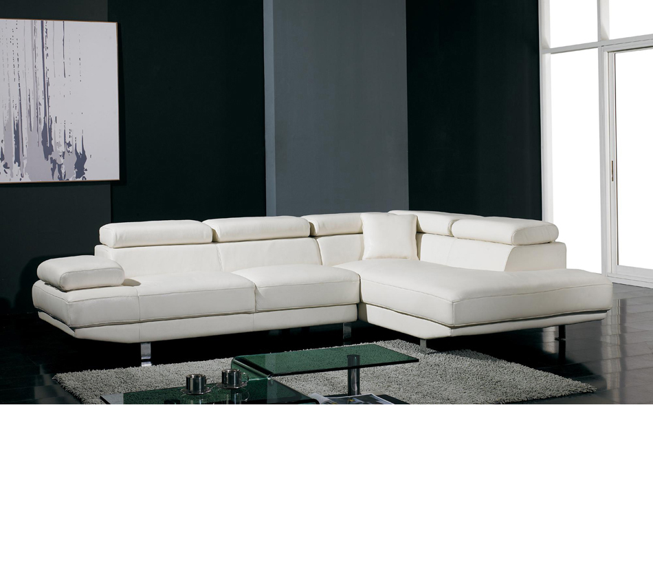 DreamFurniturecom Divani Casa T Modern Bonded Leather - Modern miami furniture