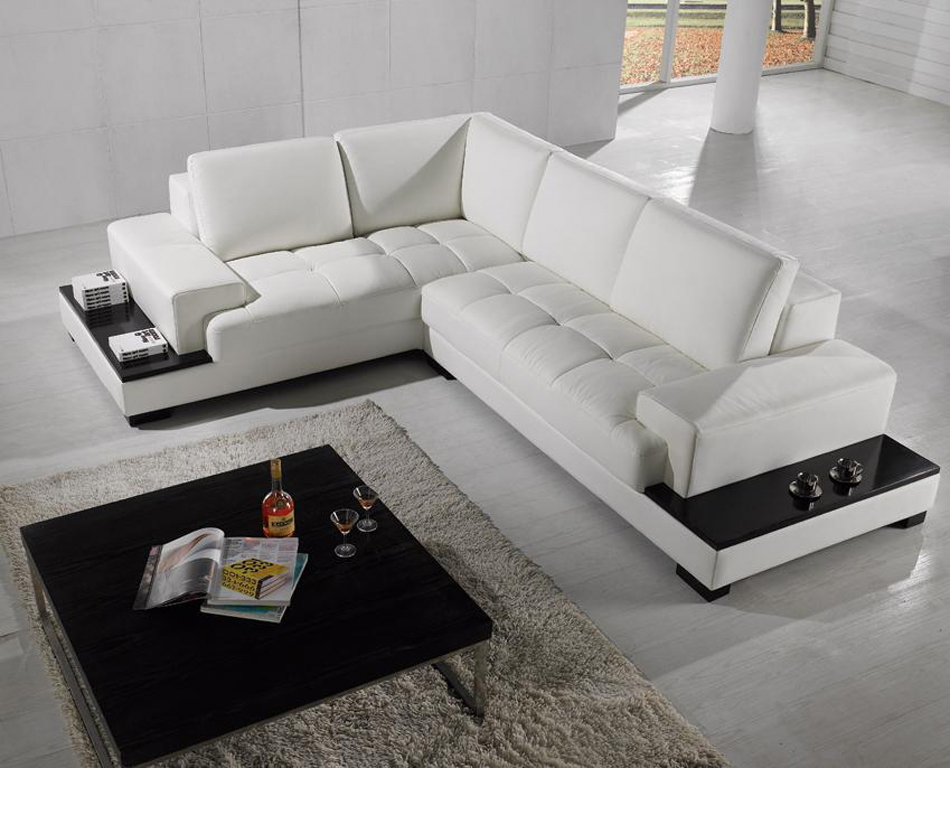 Divani casa t71 modern leather for Casa milano divani