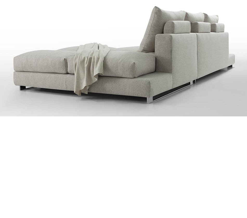 ... Sectional Sofa With Down Feather Cushioning. MOUSE OVER IMAGE TO ENLARGE