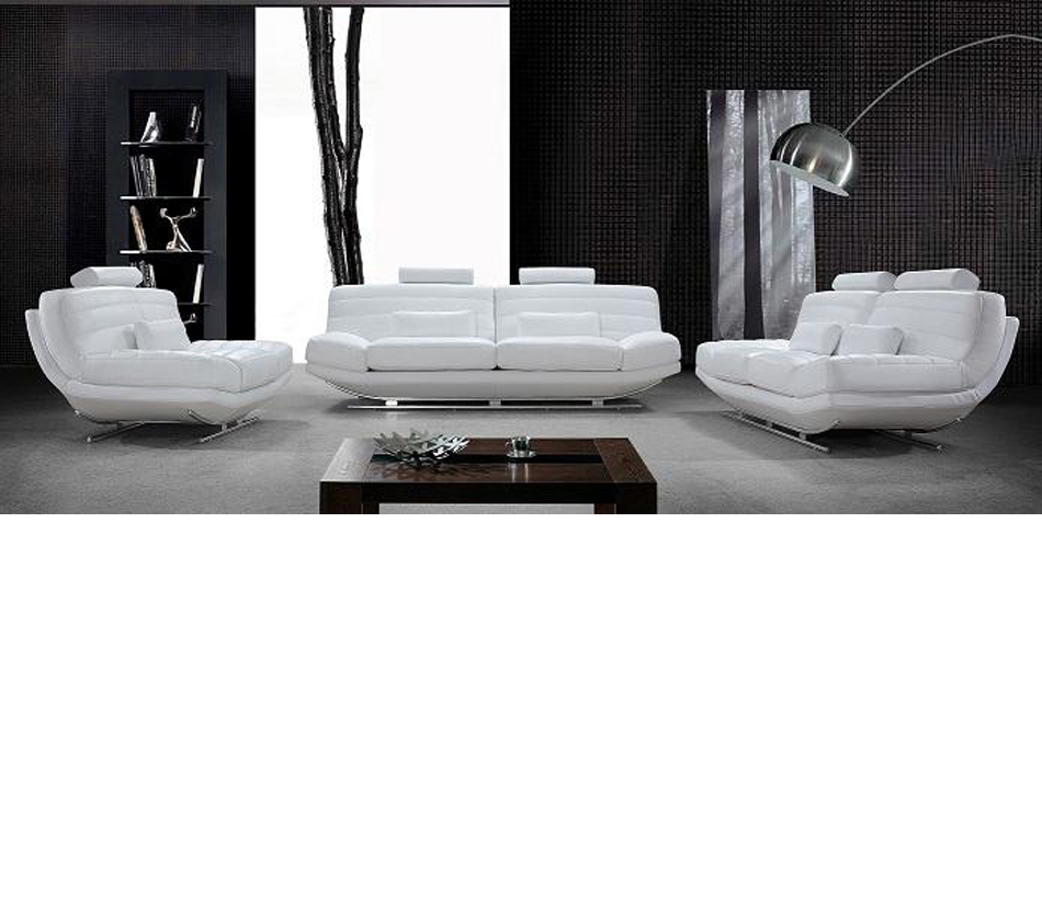 Divani casa viper modern leather for Divani stoffa moderni
