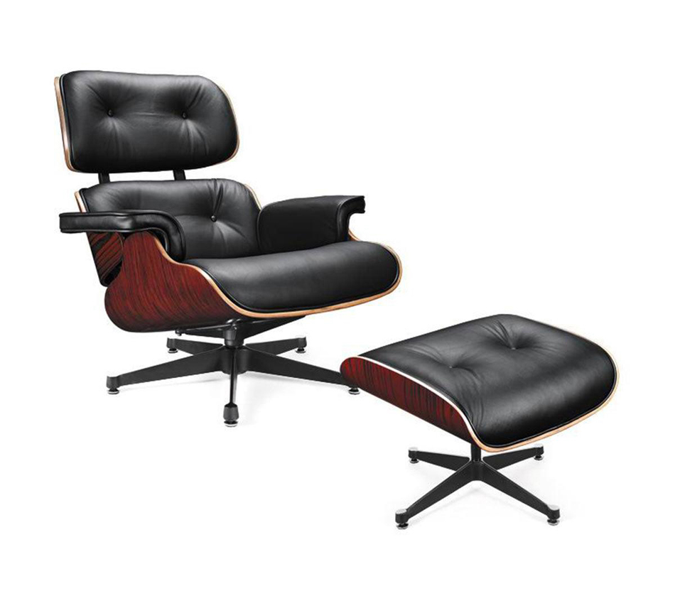 Dreamfurniture Com Ec 015 Modern Leather Lounge Chair