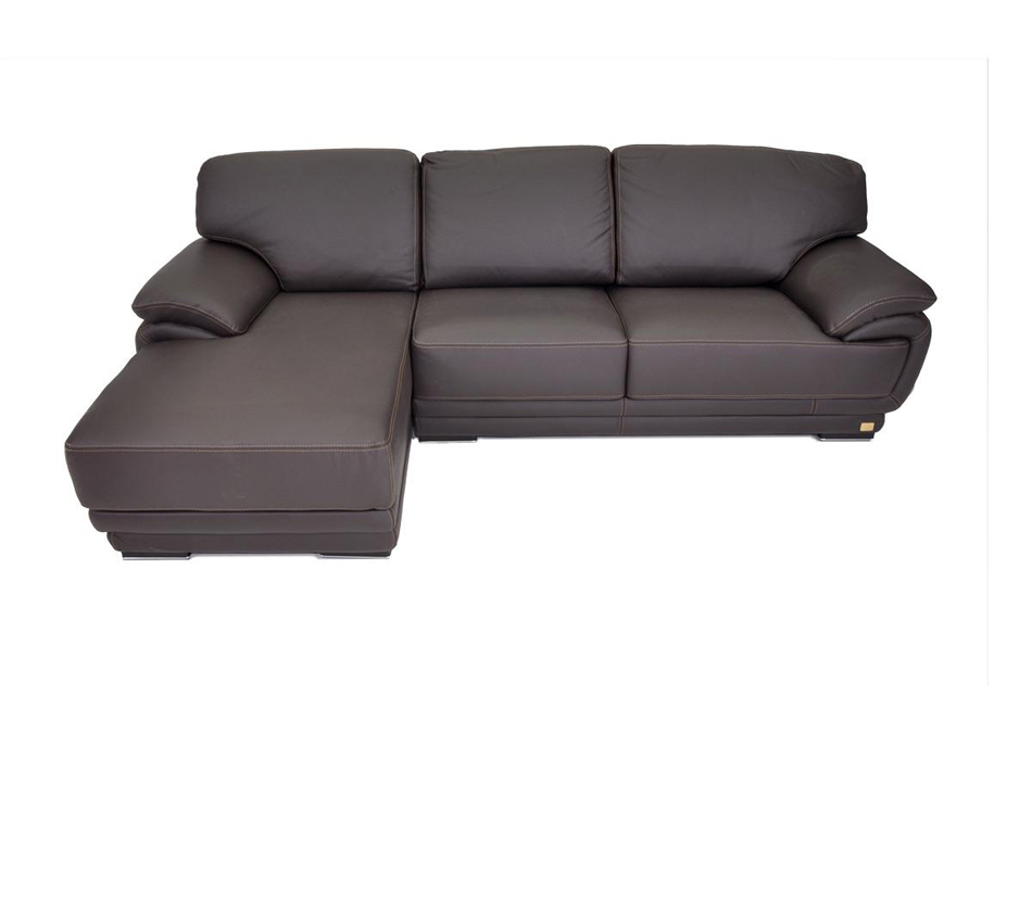 Geneve italian leather sectional sofa for Italian leather sofa