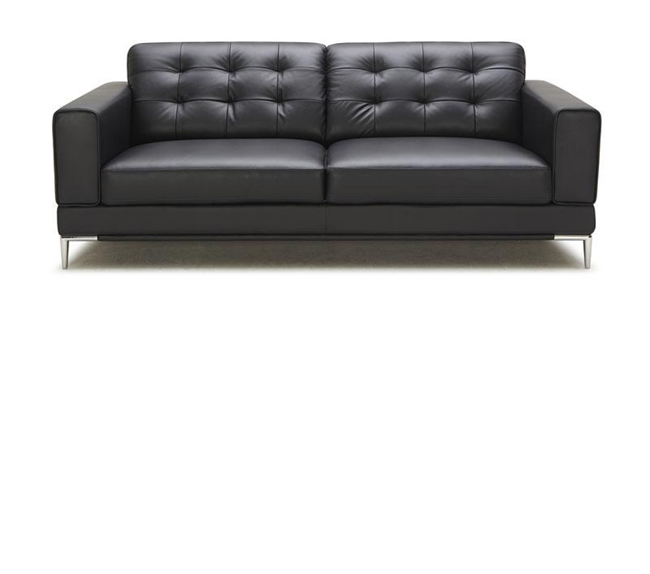 Larkspur modern black bonded for Divan furniture