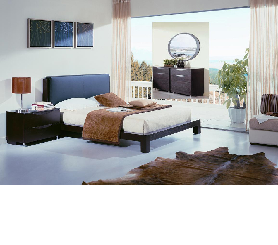 Linda Contemporary Platform Bedroom Set