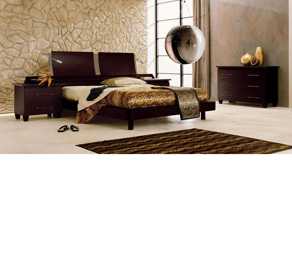 Miss Italia Composition 04 Italian Platform Bed Group