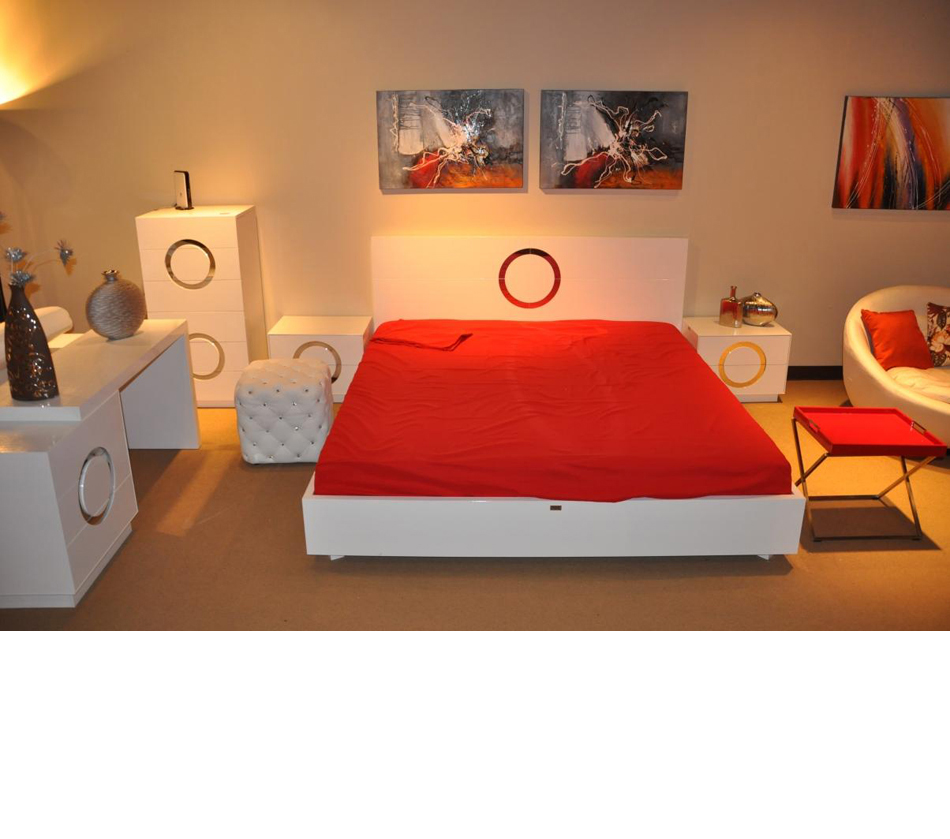 Modern Lacquer Bed Aw223 180