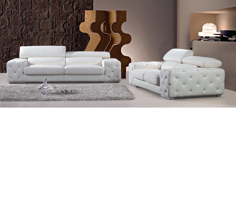 photos of tufted leather sofa