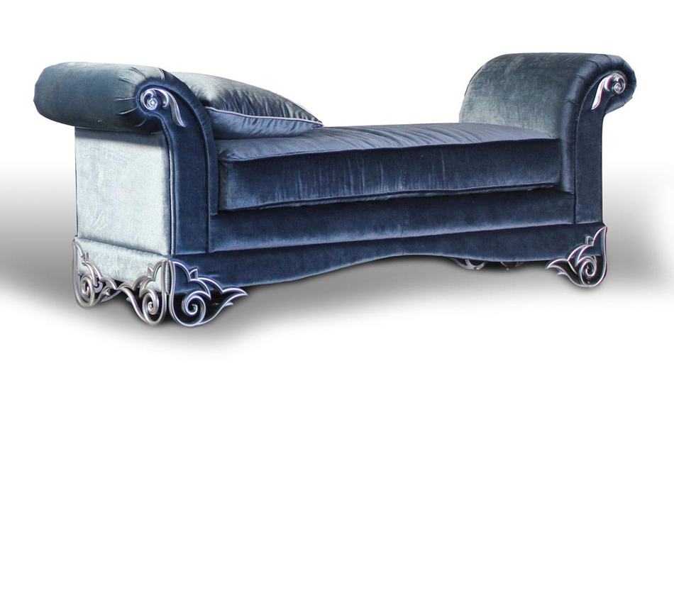 Velour Bedroom Bench