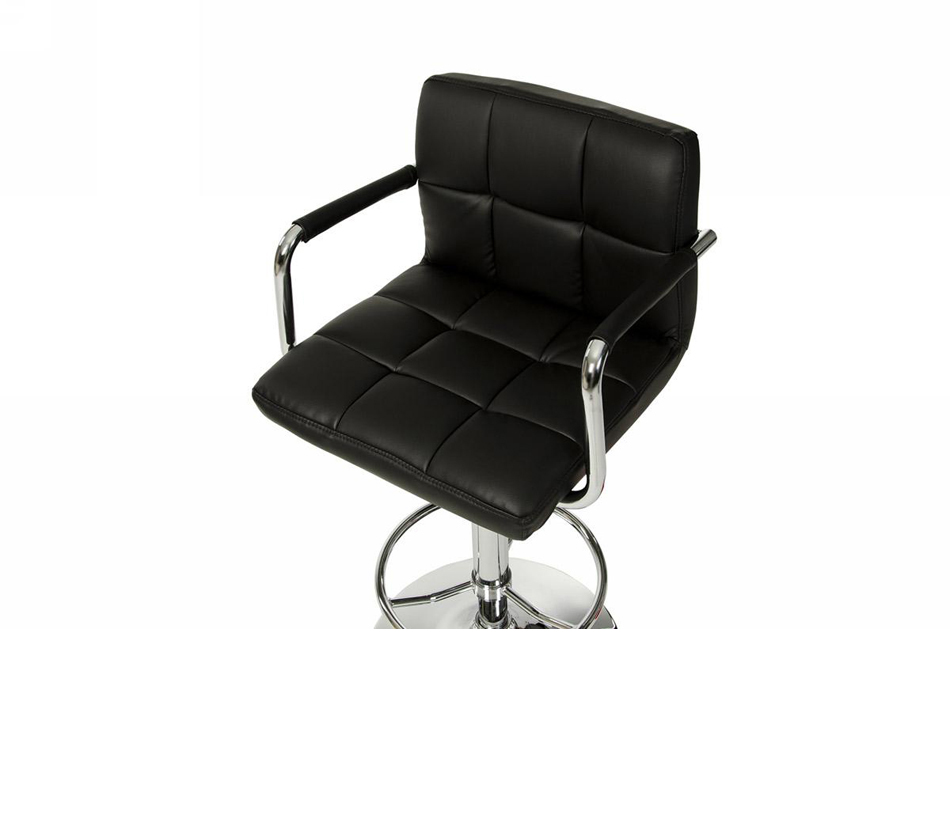 Dreamfurniture Com T 1177 Black Eco Leather