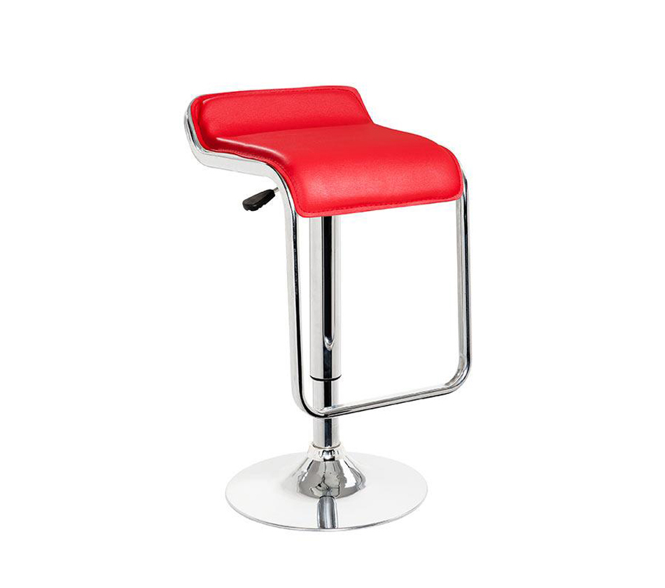 Contemporary Bar Stools ~ Dreamfurniture t eco leather contemporary bar
