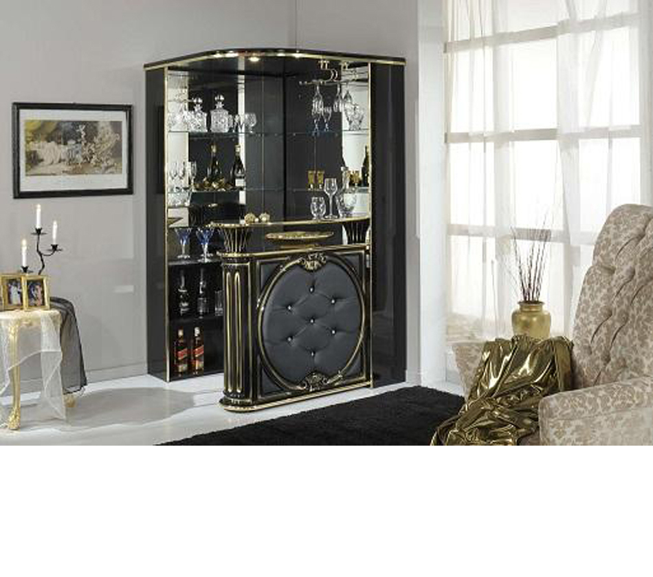 Dreamfurniture Com Tiffanie Italian Classic Bar Unit