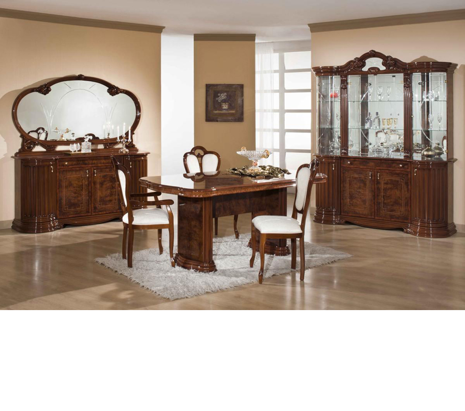 Traditional Dining Room Set: Italian Traditional