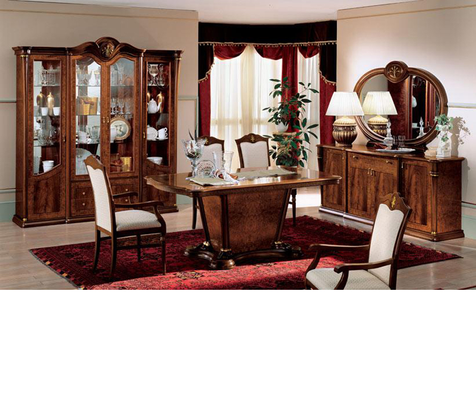 Dreamfurniture Com Klassica Traditional Italian Dining