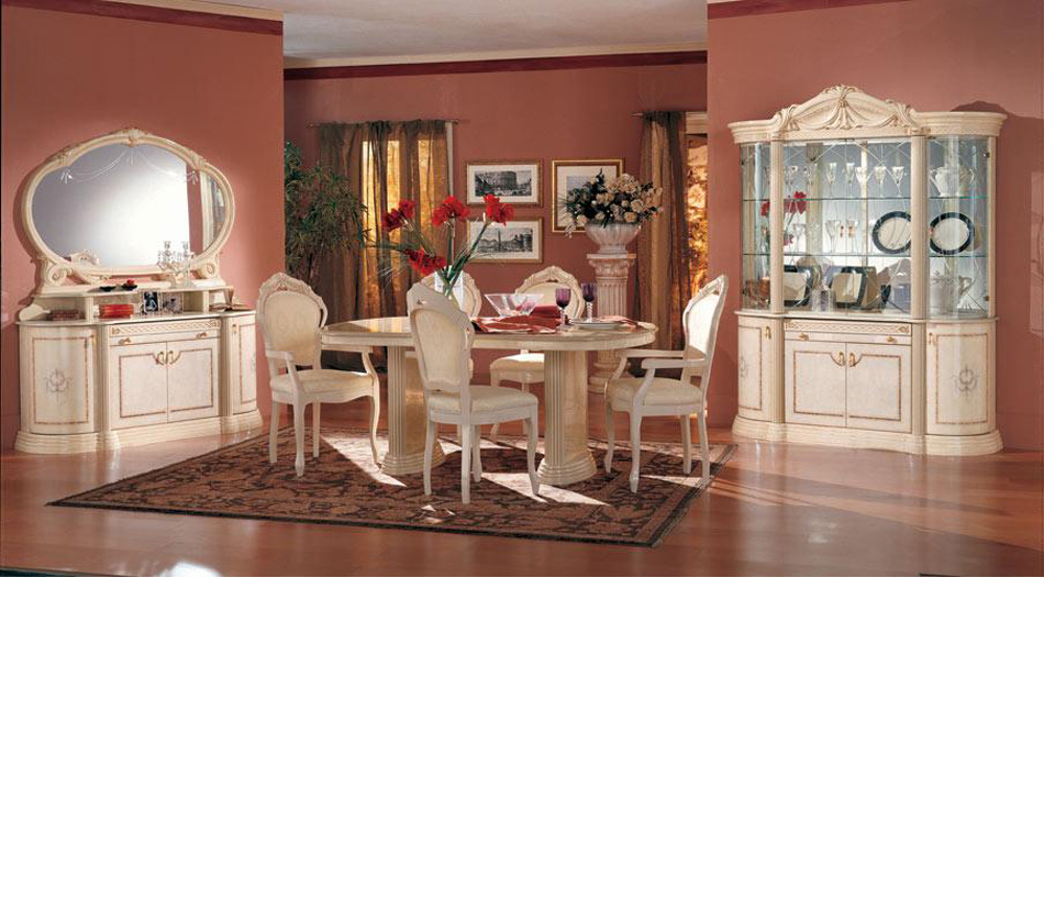 Rossella Traditional Dining Set Made