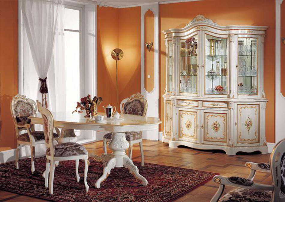 Dreamfurniture regina traditional dining set
