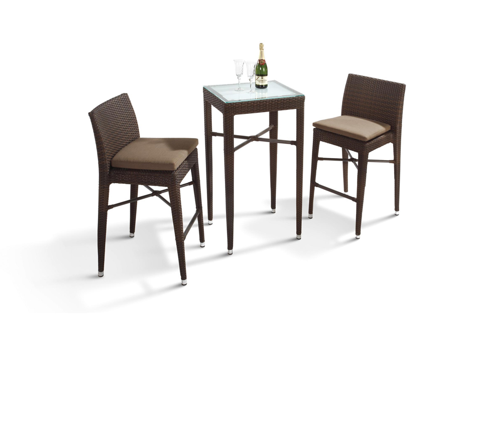 Dreamfurniture Com Ht25 Patio Bar Table And Chairs