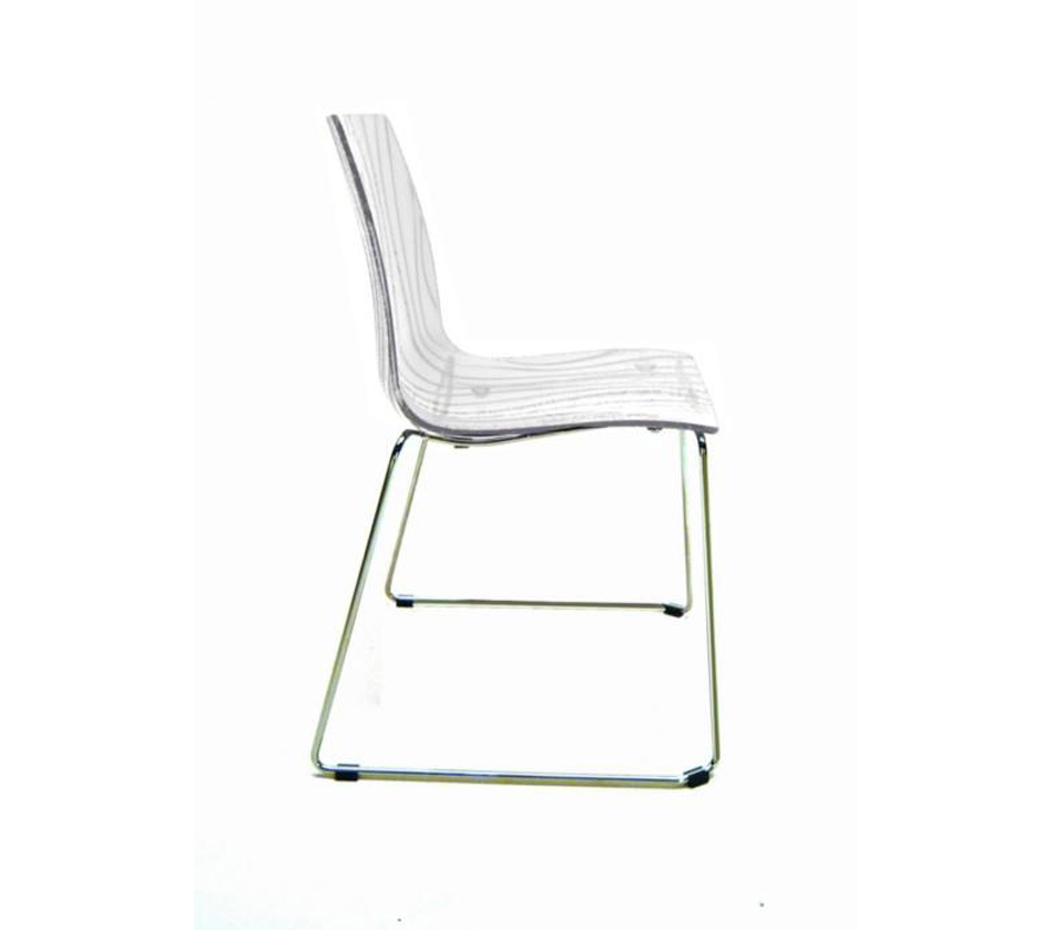 Calima modern italian dining chair for Italian dining chairs modern
