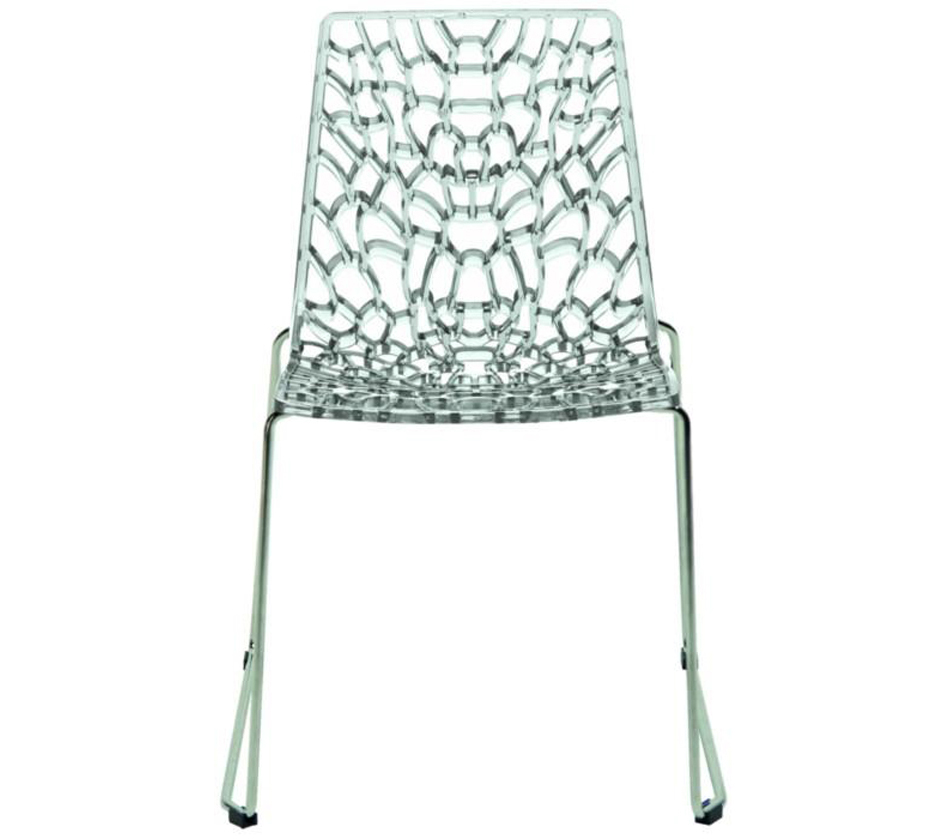 Groove modern italian dining chair for Italian dining chairs modern