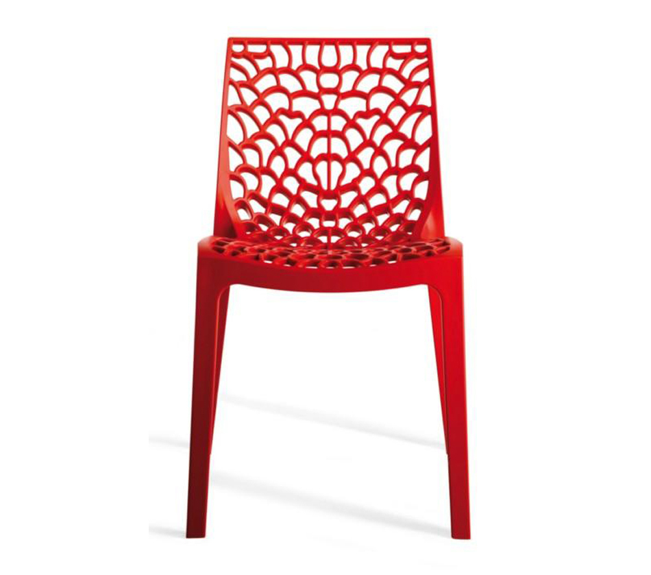 Dreamfurniture Com Gruvyer Modern Italian Dining Chair