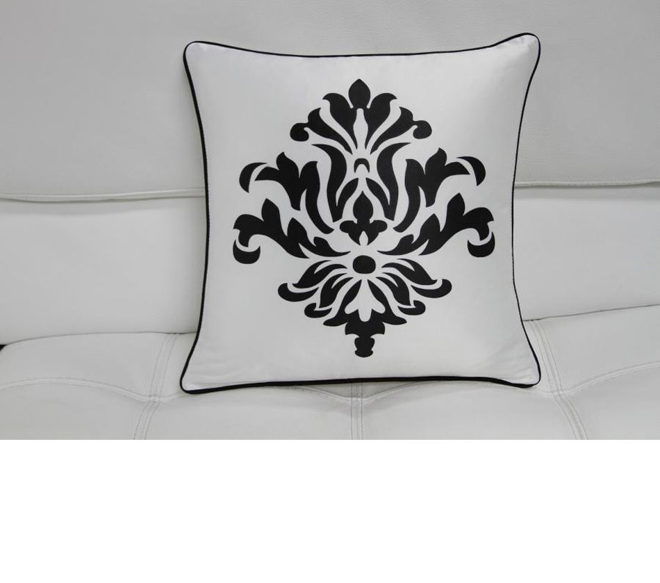 Dreamfurniture Com Transitional Black And White Print