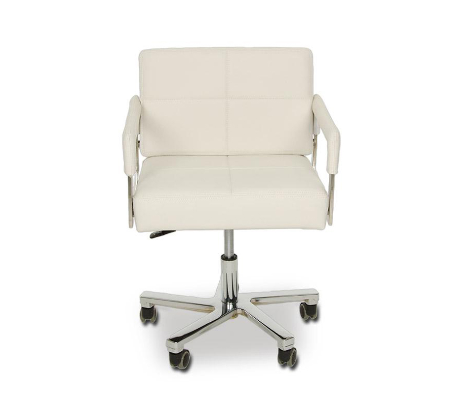 furniture office chairs alaska modern white leather office chair