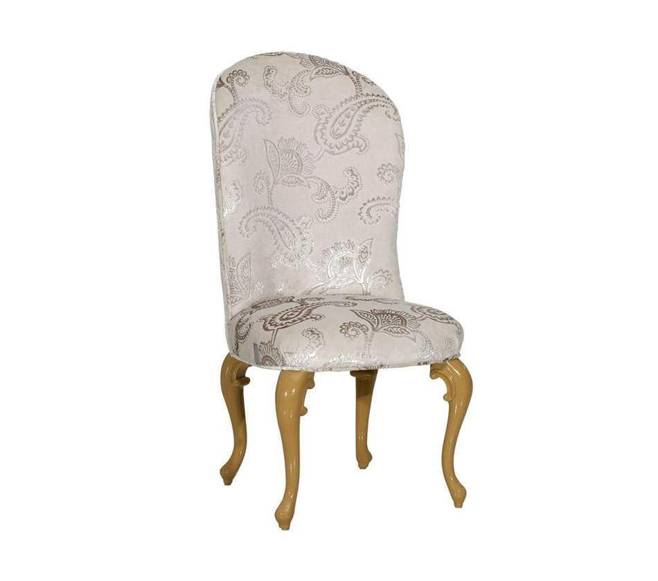 room furniture dining chairs regency style light grey fabric
