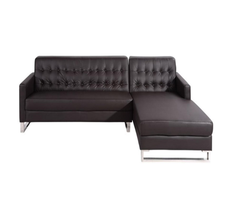 Dreamfurniture Com 3308 Modern Sectional Sofa With Chaise