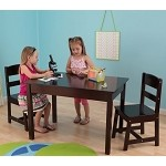 Rectangle Table & Chair Set - Espresso